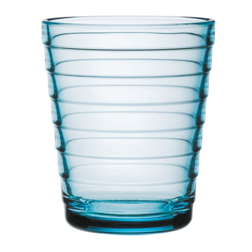 Iittala Aino Aalto Glasbecher 22cl, hellblau