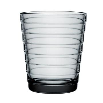 Iittala Aino Aalto Glasbecher 22cl, grau