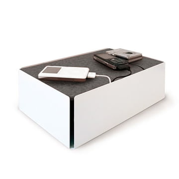 Charge-Box - weiss / grau