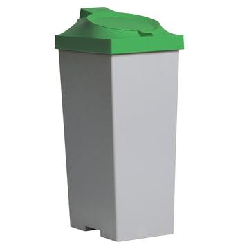 Top Kunststoffeimer - Deckel grün