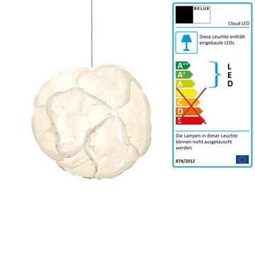 Cloud LED 10 Elemente Ø 60cm dimmbar DALI von Belux