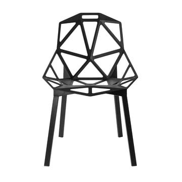 Chair One Stapelstuhl von Magis in Schwarz