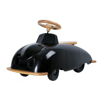 Roadster SAAB Car - schwarz/ natur