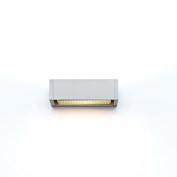 serien.lighting -  SML Wandleuchte, silber eloxiert, small