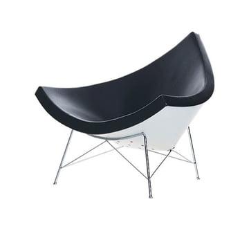Coconut Chair - Stoff Hopsak schwarz