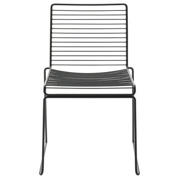 Der Hay Hee Stuhl in schwarz