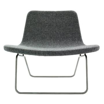 Hay Ray Lounge Chair Stoff grau