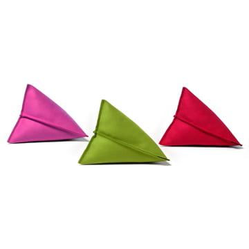 Hey Sign - Lily Filzkissen, Trio Pink, Grün und Rot