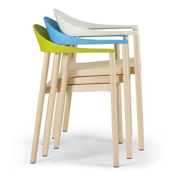 Plank - Monza Stuhl, gestapelt