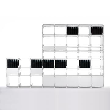 Regalsystem Plattenbau von Kaether & Weise