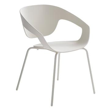 Casamania - Vad Stuhl mit Vierbeingestell in Weiss