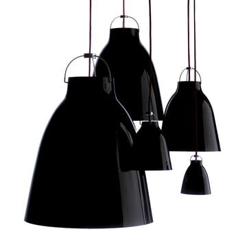 Lightyears - Caravaggio Pendelleuchten schwarz, Gruppe