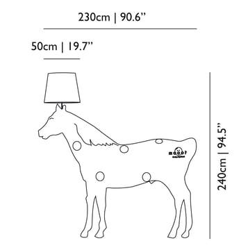Moooi - Horse Lamp - Abmessungen