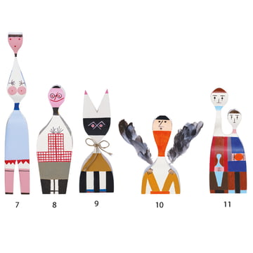 Vitra - Wooden Dolls - Gruppe 7-11