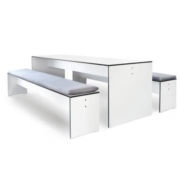 Conmoto - Riva Indoor- und Outdoor Möbel - Set weiss