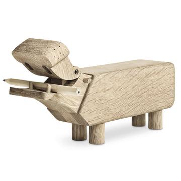 Holz-Flusspferd von Kay Bojesen