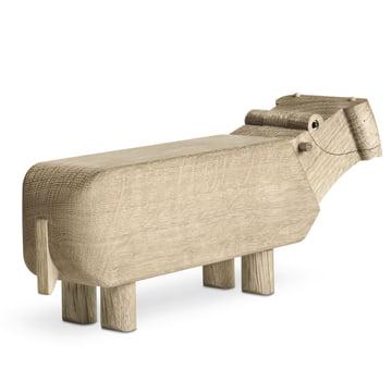 Kay Bojesen Holz-Flusspferd als Geschenk