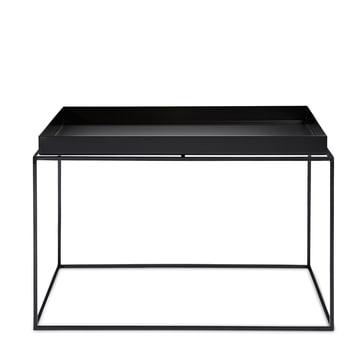 Hay - Tray Table quadratisch, 60 x 60 cm, schwarz