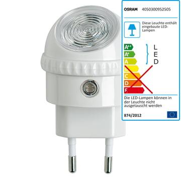 Lunetta LED-Orientierungsleuchte von Osram in Weiss