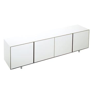 Wogg 36 Sideboard - 4 Türen, HPL weiss