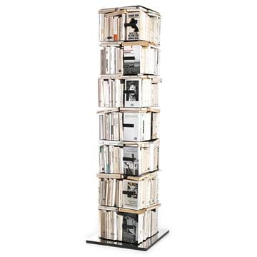 Opinion Ciatti - Ptolomeo Karussell-Bücherregal PTX4 - vertikal