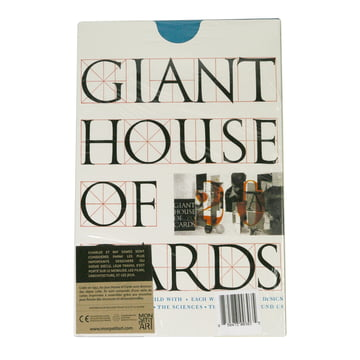 eamesoffice - Giant House of Cards - 20 Karten