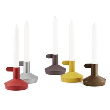 Normann Copenhagen - Flag Kerzenhalter - Gruppe mit Kerzen
