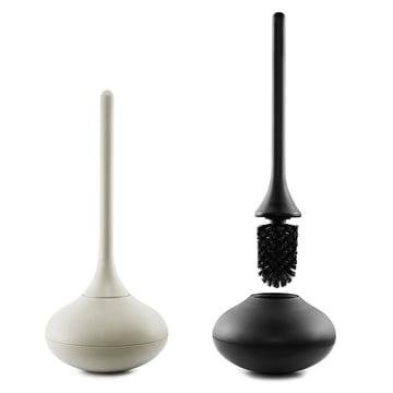 Normann Copenhagen - Ballo Toilettenbürste - grau und schwarz