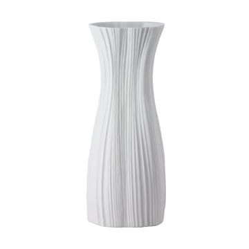 Rosenthal - Plissée Vase, weiss, 38 cm
