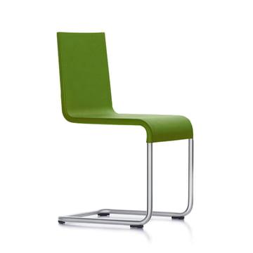 Vitra - 05 Stuhl avocado, Kunststoffgleiter