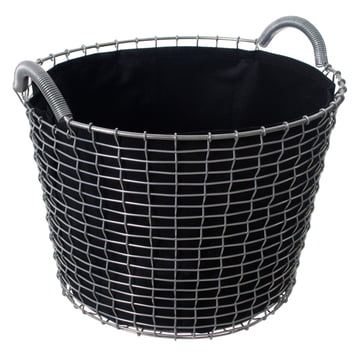 Classic 24 Drahtkorb von Korbo mit Plant Bag