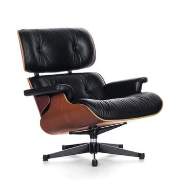 Vitra - Lounge Chair in Kirschbaum (Neue Masse)