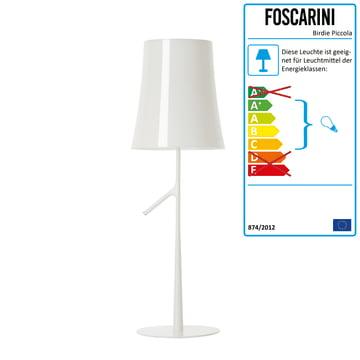 Foscarini - Birdie Piccola Tischleuchte, weiss