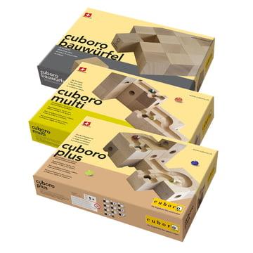 Cuboro - Kugelbahn Zusatzkästen - Verpackungen