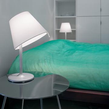 Artemide - Melampo Notte Tischleuchte, aluminiumgrau