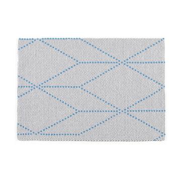 Der Hay - S&B Dot Carpet in big blue, 120x170cm