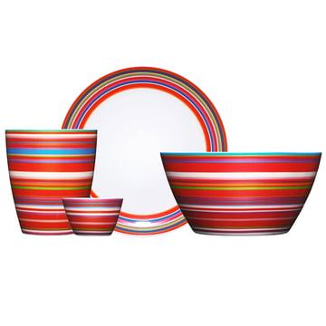 Iittala - Origo Set, rot, Gruppe