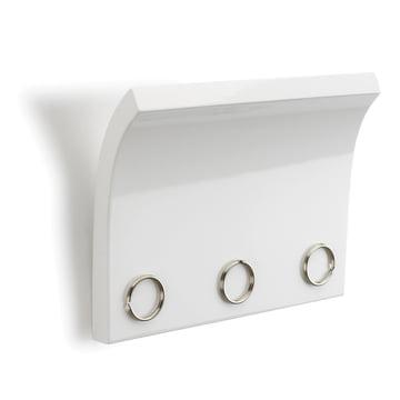 Umbra - Magnetter Schlüsselbrett, weiss