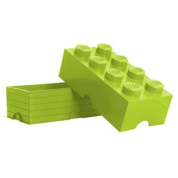 Lego - Storage Box 8, hellgrün - offen