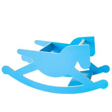 Kaether & Weise - doppelhoppel Schaukelpferd, blau
