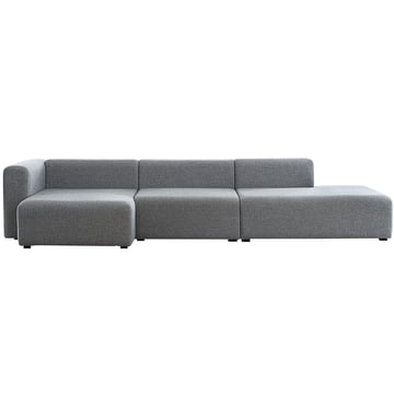 Mags Sofa Konfiguration Short / Chaiselounge Module / Wide von Hay