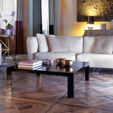 Kartell - Invisible Table H 31,5cm, glasklar