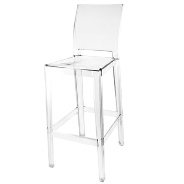 Kartell - One More, One More Please Barhocker, quadratisch H 110