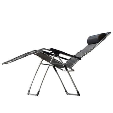 Fiam - Movida Aluminium Relaxliege, schwarz