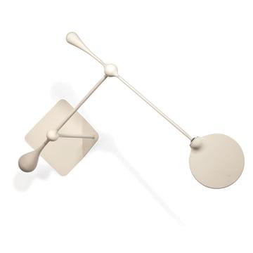 Klein & More - Trapeze LED Tischleuchte, gross, weiss - oben