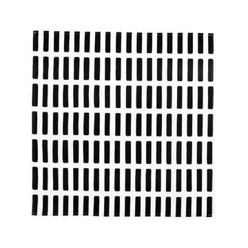 Artek - Siena Stoffserviette, weiss/ schwarz
