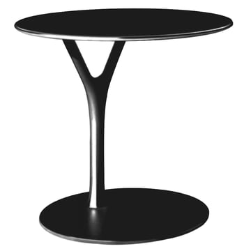 Frost - Wishbone Table, 450 mm, schwarz