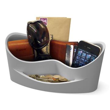 j-me - Casa Aufbewahrung, cool grey - mit Gegenständen