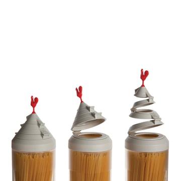 Ototo - Spaghetti Tower Gruppe, Deckel-Öffnungs-Optionen