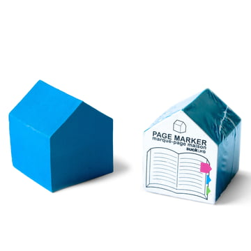 Suck UK - House Page Markers, blau - verpackt